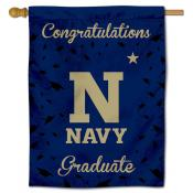 US Navy Midshipmen Congratulations Graduate Flag
