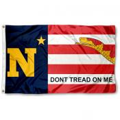 US Navy Midshipmen Dont Tread on Me Flag