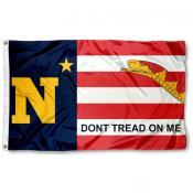 US Navy Midshipmen Dont Tread on Me Flag