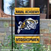 US Navy Midshipmen Garden Flag