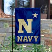 US Navy Midshipmen N Star Garden Flag