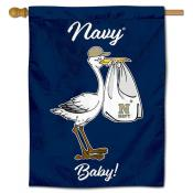 US Navy Midshipmen New Baby Flag