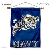 US Navy Midshipmen Wall Banner