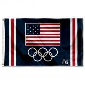 USA Olympic and Team USA 3x5 Flag