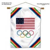 USA Olympic Wall Banner