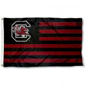 USC Gamecocks Striped Flag