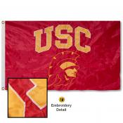 USC New Trojan Nylon Embroidered Flag