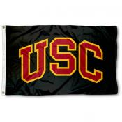USC Trojans Black Flag
