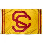 USC Trojans Throwback Vault Logo Flag