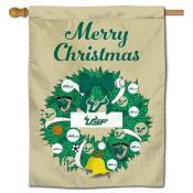 USF Bulls Happy Holidays Banner Flag