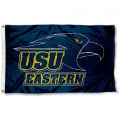 USU Eastern Golden Eagles Logo Flag