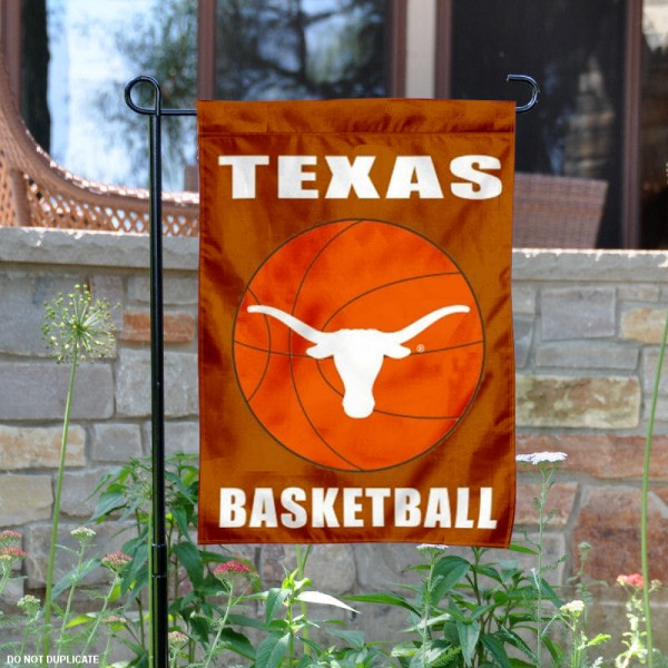 UT Longhorns Basketball Garden Banner is 13x18 inches in size, is made of 2-layer polyester, screen printed University of Texas athletic logos and lettering. Available with Same Day Express Shipping, Our UT Longhorns Basketball Garden Banner is officially licensed and approved by University of Texas and the NCAA.