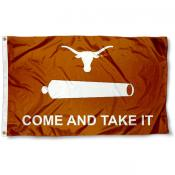 UT Longhorns Come and Take It Flag