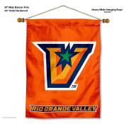 UT Rio Grande Valley Vaqueros Wall Banner