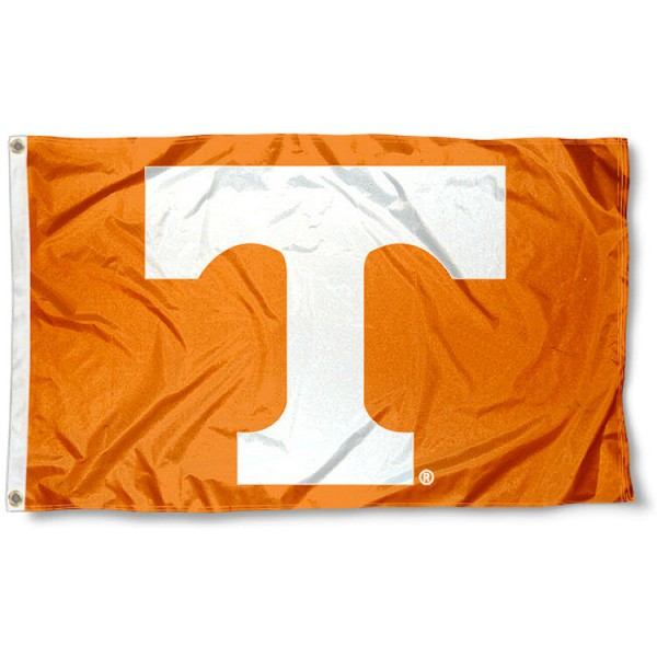 UT Volunteers 3x5 Flag measures 3'x5', is made of 100% poly, has quadruple stitched sewing, two metal grommets, and has double sided Team University logos. Our Tennessee Vols 3x5 Flag is officially licensed by the selected university and the NCAA.