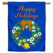 UTA Mavericks Happy Holidays Banner Flag