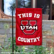 Utah Country Garden Flag