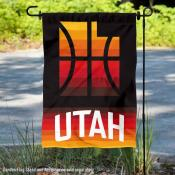 Utah Jazz City Edition Double Sided Garden Flag