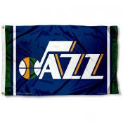 Utah Jazz Team Flag