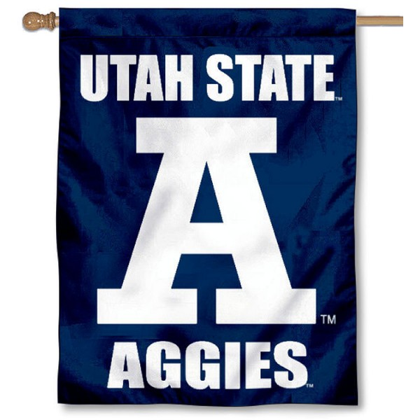 Utah State Aggies Block A House Flag is a vertical house flag which measures 30x40 inches, is made of 2 ply 100% polyester, offers screen printed NCAA team insignias, and has a top pole sleeve to hang vertically. Our Utah State Aggies Block A House Flag is officially licensed by the selected university and the NCAA.