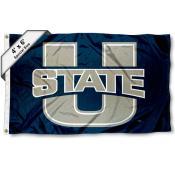 Utah State Aggies Large 4x6 Flag
