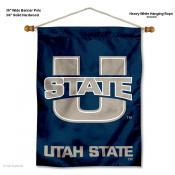 Utah State Aggies Wall Banner