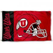 Utah Utes Football Flag
