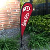 Utah Utes Small Feather Flag