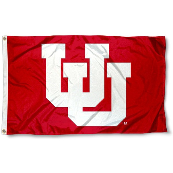 Utah Utes Throwback Logo Flag measures 3x5 feet, is made of 100% polyester, offers quadruple stitched flyends, has two metal grommets, and offers screen printed NCAA team logos and insignias. Our Utah Utes Throwback Logo Flag is officially licensed by the selected university and NCAA.