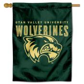 Utah Valley Wolverines House Flag