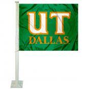 UTD Comets Car Window Flag