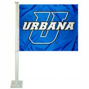 UU Blue Knights Car Flag