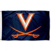 UVA Cavaliers Flag