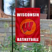 UW Badgers Basketball Garden Banner