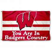 UW Badgers Country Flag