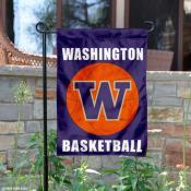 UW Huskies Basketball Garden Banner