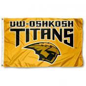 UW Oshkosh 3x5 Flag