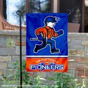 UW Platteville Pioneers Garden Flag