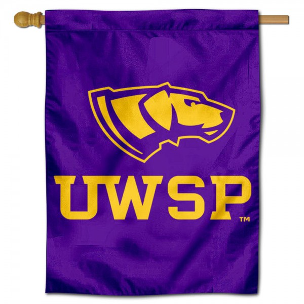 UW Stevens Point Pointers Logo Double Sided House Flag is a vertical house flag which measures 30x40 inches, is made of 2 ply 100% polyester, offers screen printed NCAA team insignias, and has a top pole sleeve to hang vertically. Our UW Stevens Point Pointers Logo Double Sided House Flag is officially licensed by the selected university and the NCAA.