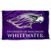 UW Whitewater Logo Flag