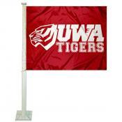 UWA Tigers Car Window Flag