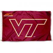 Va Tech Hokies ACC Flag