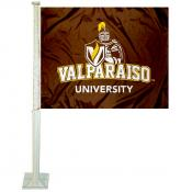Valparaiso University Car Window Flag