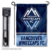 Vancouver Whitecaps Garden Flag and Flagpole Stand