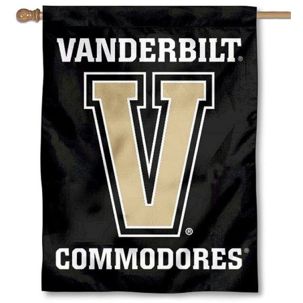Vanderbilt Commodores Banner Flag is a vertical house flag which measures 30x40 inches, is made of 2 ply 100% polyester, offers dye sublimated NCAA team insignias, and has a top pole sleeve to hang vertically. Our Vanderbilt Commodores Banner Flag is officially licensed by the selected university and the NCAA.