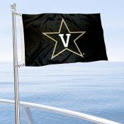 Vanderbilt Commodores Boat and Mini Flag