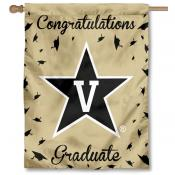 Vanderbilt Commodores Congratulations Graduate Flag