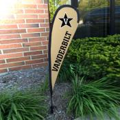 Vanderbilt Commodores Small Feather Flag