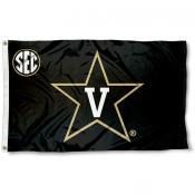 Vanderbilt University SEC Logo Flag