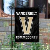 Vanderbilt V Logo Garden Flag